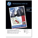 Image of HP A3 Professional Laser Paper Gloss / White / 120gsm / 250 Sheets