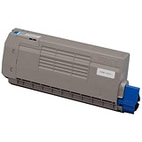 Image of Oki 44318607 Cyan Laser Toner Cartridge