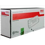 Image of Oki 44318606 Magenta Laser Toner Cartridge