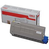 Image of Oki 44318605 Yellow Laser Toner Cartridge