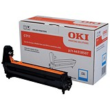 Image of Oki 44318507 Cyan Laser Drum Unit
