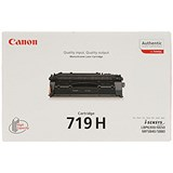 Image of Canon 719H High Yield Black Laser Toner Cartridge