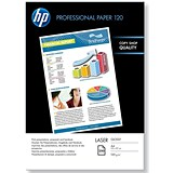 Image of HP A4 Professional Laser Paper Glossy / White / 120gsm / 250 Sheets
