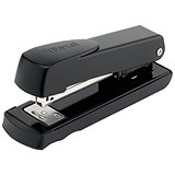 Image of Rexel Meteor Half Strip Stapler - Black