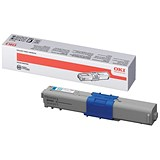 Image of Oki 44469706 Cyan Laser Toner Cartridge