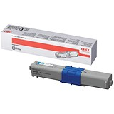 Oki 44469724 High Yield Cyan Laser Toner Cartridge