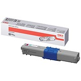 Oki 44469723 High Yield Magenta Laser Toner Cartridge