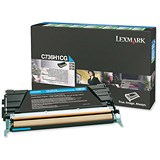 Image of Lexmark C736H1CG Cyan Laser Toner Cartridge