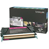Image of Lexmark C736H1MG Magenta Laser Toner Cartridge