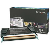 Image of Lexmark C736H1KG Black Laser Toner Cartridge