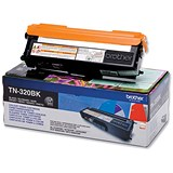 Image of Brother TN320BK Black Laser Toner Cartridge