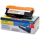 Image of Brother TN320Y Yellow Laser Toner Cartridge