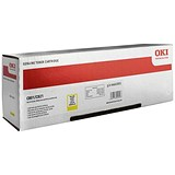 Image of Oki 44643001 Yellow Laser Toner Cartridge