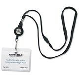 Image of Durable Necklace Reel for Name Badges with Safety Closure - Pack of 10