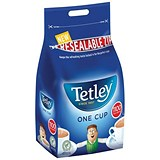 Image of Tetley High Quality One Cup Tea Bags - Pack of 1100