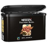 Nescafe Partners Blend Instant Fairtrade Coffee / From 100 percent Arabica Beans / 500g Tin