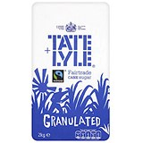 Image of Tate and Lyle Granulated Pure Cane Sugar - 2kg Bag