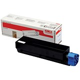 Image of Oki B411/B431 Black Laser Toner Cartridge