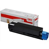 Image of Oki 44917602 High Yield Black Laser Toner Cartridge