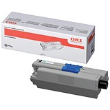 Image of Oki 44469803 Black Laser Toner Cartridge