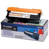 Image of Brother TN328BK Black Laser Toner Cartridge