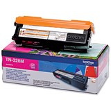 Image of Brother TN328M Magenta Laser Toner Cartridge