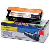 Brother TN328Y Yellow Laser Toner Cartridge