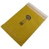 Image of Jiffy No.00 Padded Bag Envelopes / 105x229mm / Brown / Pack of 200