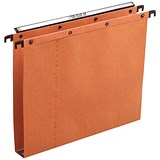 Image of Elba Ultimate A20 Suspension Files / Square Base / 30mm Capacity / Foolscap / Orange / Pack of 25