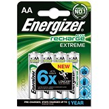 Energizer Advanced Rechargeable Battery / NiMH Capacity 2300mAh LR06 / 1.2V / AA / Pack of 4