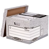 Image of Fellowes Bankers Box System Storage Boxes / Large / Pack of 10