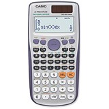 Image of Casio Calculator Scientific Twin Display 10 plus 2 Digit Solar/Battery Power Ref FX991ES