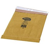 Jiffy No.3 Padded Bag Envelopes / 195x343mm / Brown / Pack of 10