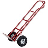 Image of 5 Star P Handled Pneumatic Tyre Sack Truck - Capacity 200kg