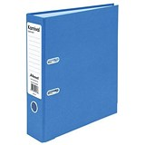 Image of Rexel Karnival A4 Lever Arch Files / Board / Slotted Covers / 70mm Spine / Blue / Pack of 10