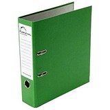 Image of Rexel Karnival A4 Lever Arch Files / Board / Slotted Covers / 70mm Spine / Green / Pack of 10
