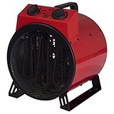 Igenix Industrial Drum Heater 3 Settings 3kW 5.4kg Red/Black