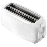 5 Star 2 Slot 4 Slice Toaster with Cool Wall and Variable Browning / 1200W / White