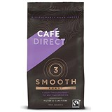 Image of Cafe Direct Fairtrade Medium Roast Smooth Filter Coffee - 227g