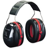 Image of 3M 1445 Optime III Headband Ear Muff Defenders - High Noise Reduction 30dB
