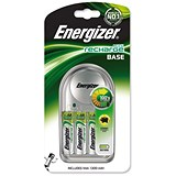 Image of Energizer Value Battery Charger for AA, AAA - Includes 4xAA 1300mAh Batteries