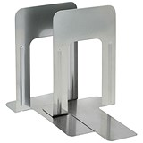 5 Star Metal Bookends / Silver / Pack of 2