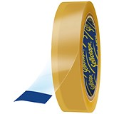 Sellotape Original Golden Tape Rolls - Large / Non-static / Easy-tear / 18mmx66m / Pack of 16