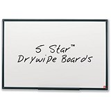 Image of 5 Star Lightweight Drywipe Board / Detachable Pen Tray / W900xH600mm