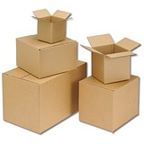 Image of Single Wall Packing Carton / 152x152x178mm / Pack of 25