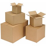 Image of Single Wall Packing Carton / 330x254x178mm / Pack of 25