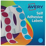 Image of Avery Dispenser for 19mm Diameter Labels / Blue / 24-509 / 1120 Labels