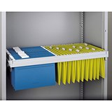 Image of Bisley Roll-out Filing Frame for Cupboard - Black