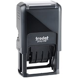 "Image of Trodat EcoPrinty 4750 Self-Inking Word & Date Stamp / ""Checked"" / Red & Blue"