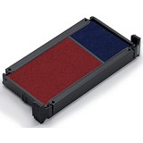 Image of Trodat Replacement Ink Pad 649122 / Red & Blue / Pack of 2